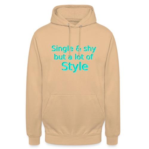 Single Shirt - Unisex Hoodie