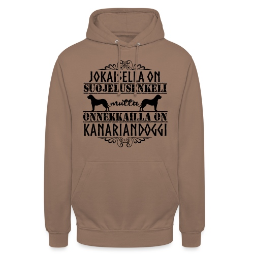 "Kanariandoggi Enkeli II - Huppari ""unisex"""
