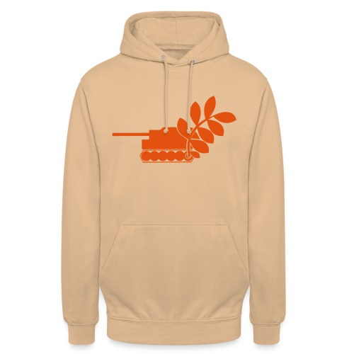 Global Campaign on Military Spending Logo v2 - Unisex Hoodie