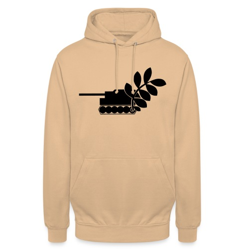 Global Campaign on Military Spending - Logo gray - Unisex Hoodie