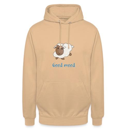 Nadège le petit mouton blanc - Sweat-shirt à capuche unisexe