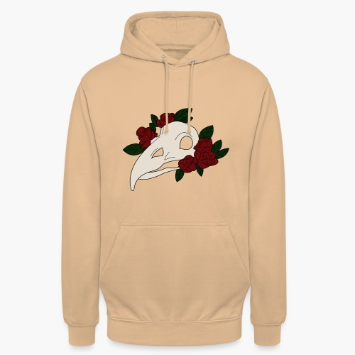 Serial Flower - Sweat-shirt à capuche unisexe