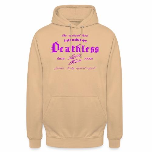 deathless living team violet - Unisex Hoodie
