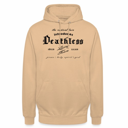 deathless living team schwarz - Unisex Hoodie