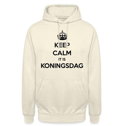 KEEP CALM IT IS KONINGSDAG - Hoodie unisex