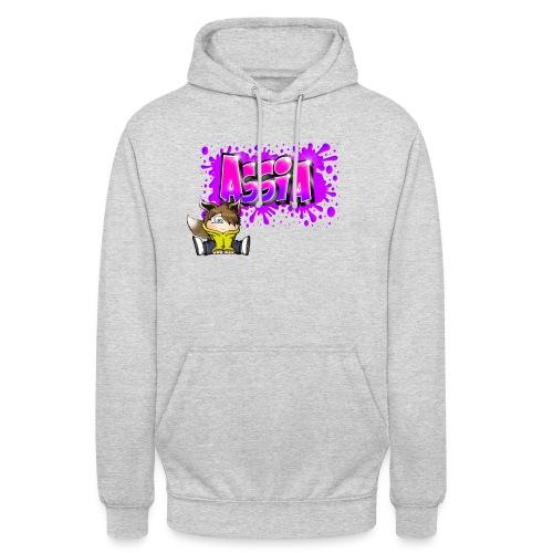 Graffiti ASSIA - Sweat-shirt à capuche unisexe