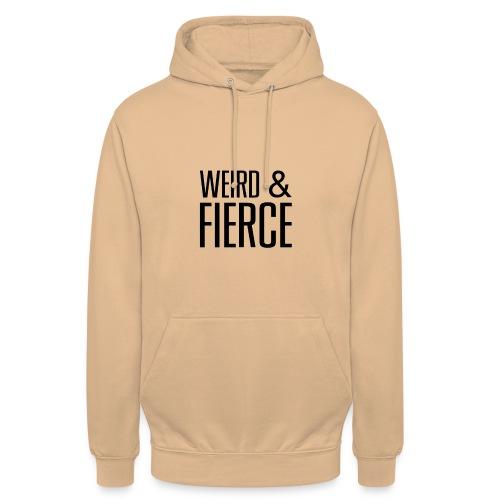 WEIRD - Sweat-shirt à capuche unisexe