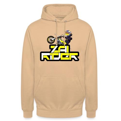 LOGO ZAI RIDER - Sweat-shirt à capuche unisexe