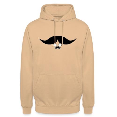 MR moustache - Sweat-shirt à capuche unisexe