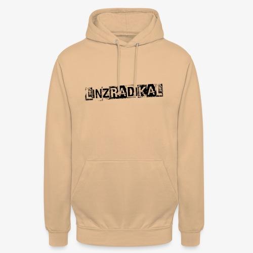 Linzradikal schwarz - Unisex Hoodie