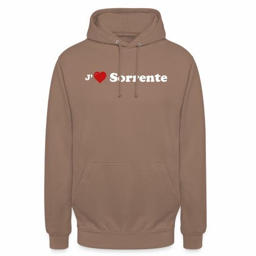 J'aime Sorrente - Sweat-shirt à capuche unisexe