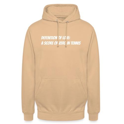 Tennis Love sweater men - Hoodie unisex