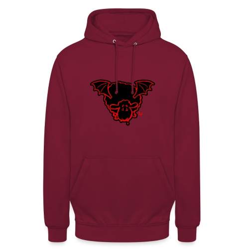 Vampire Sheep (red) - Unisex Hoodie