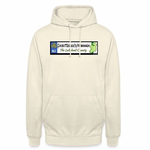 FERMANAGH, NORTHERN IRELAND licence plate tags eu - Unisex Hoodie