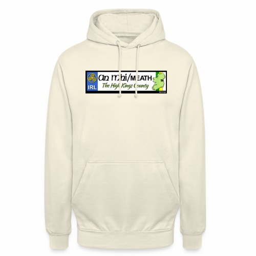 CO. MEATH, IRELAND: licence plate tag style decal - Unisex Hoodie