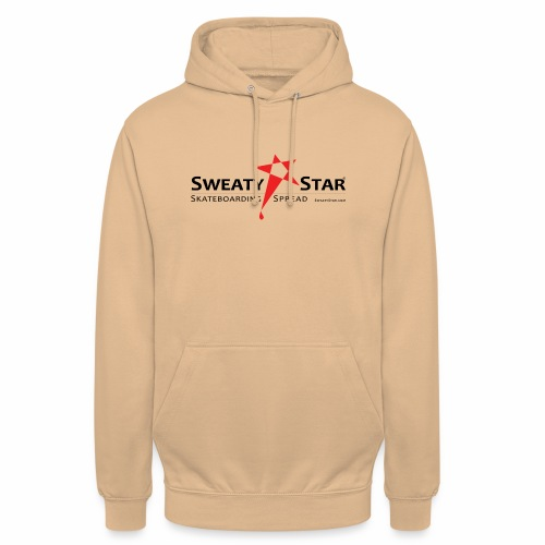 SWEATY STAR® Skateboarding Spread - Sweat-shirt à capuche unisexe