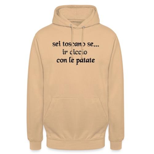 toscana - Felpa con cappuccio unisex