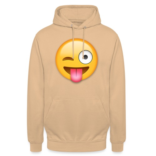 Winking Face - Unisex Hoodie