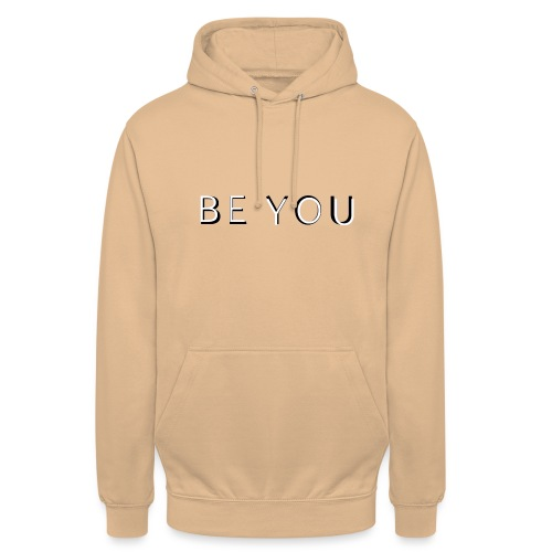 BE YOU Design - Hættetrøje unisex
