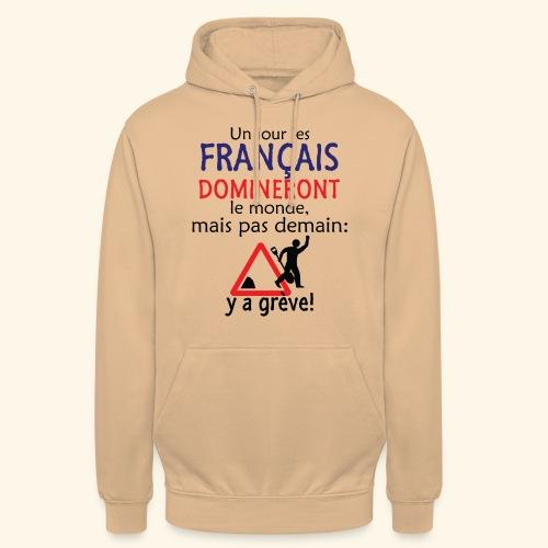domination française - Sweat-shirt à capuche unisexe