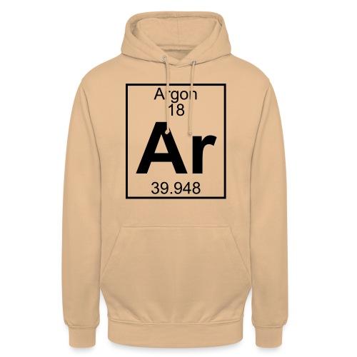 Argon (Ar) (element 18) - Unisex Hoodie