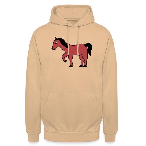 pferd Pony Reiten - Unisex Hoodie