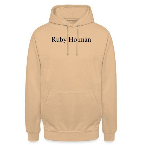 Ruby Holman - Sweat-shirt à capuche unisexe