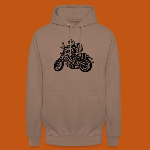 Motorrad Touring / Motorcycle 01_weiß - Unisex Hoodie