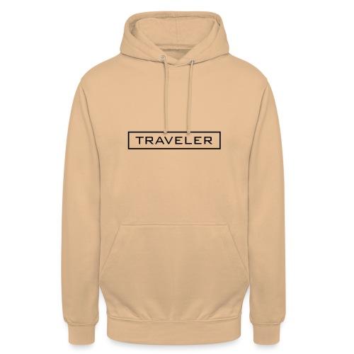 TRAVELER - Felpa con cappuccio unisex