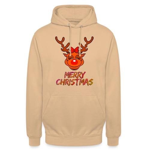 Rudolph weiblich - Unisex Hoodie