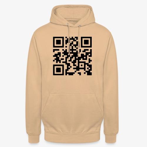 QR Code - Unisex Hoodie