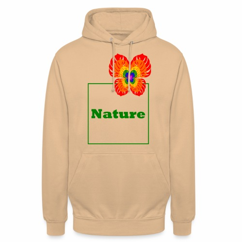 Nature - Butterfly / Flower / Monstera - Unisex Hoodie
