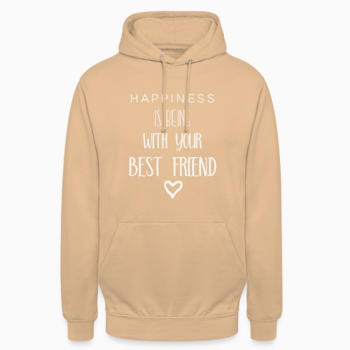 Happiness is 2nd edition white - Unisex Hoodie