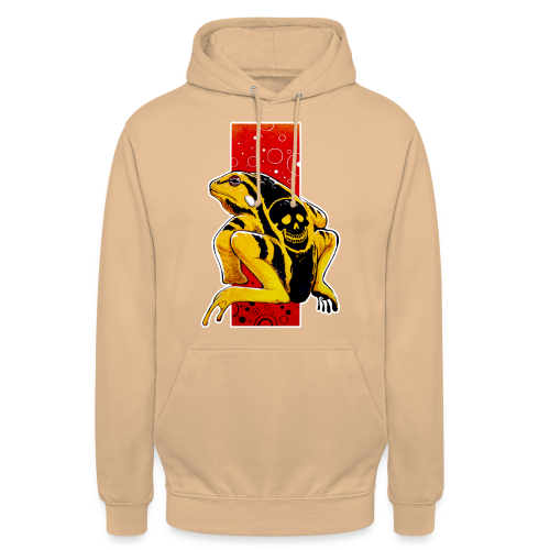 Death Frog - Bluza z kapturem typu unisex
