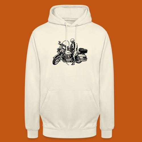 Chopper / Motorrad 05_schwarz - Unisex Hoodie