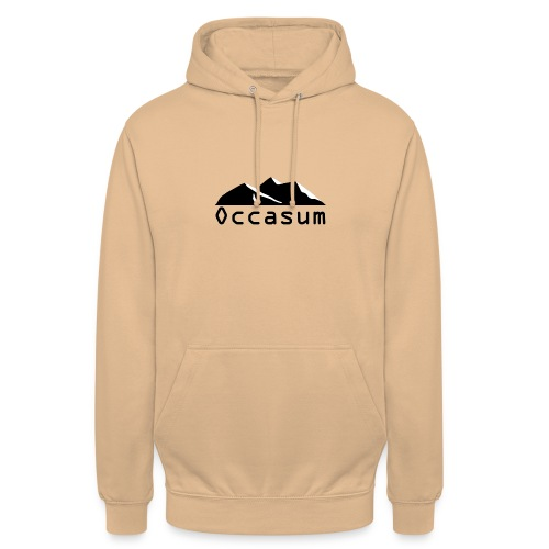 "Occasum ""Mountain"" - Sweat-shirt à capuche unisexe"