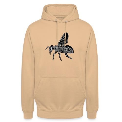 Skelett Biene - Hoodie unisex
