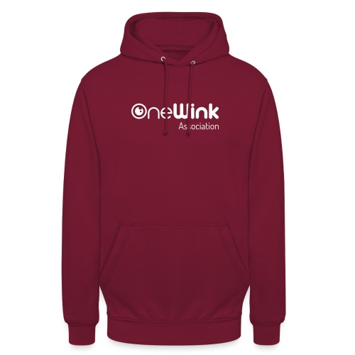 OneWink Association - Sweat-shirt à capuche unisexe