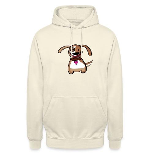 Titou le chien - Sweat-shirt à capuche unisexe