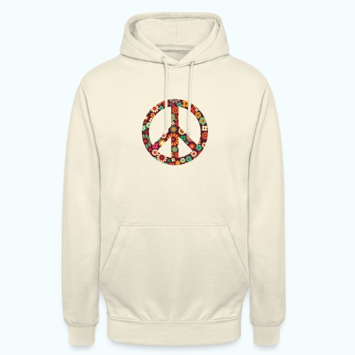 Flowers children - peace - Unisex Hoodie