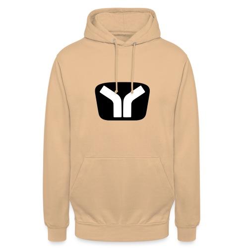 Yugo Logo Black-White Design - Unisex Hoodie