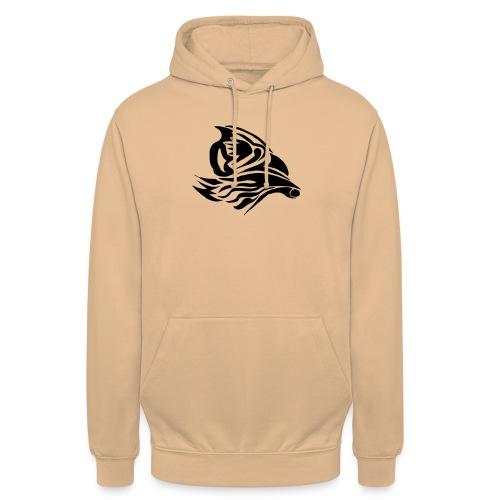 Aigle Abstrait - Sweat-shirt à capuche unisexe