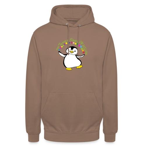 Pinguin Flower Power - Unisex Hoodie