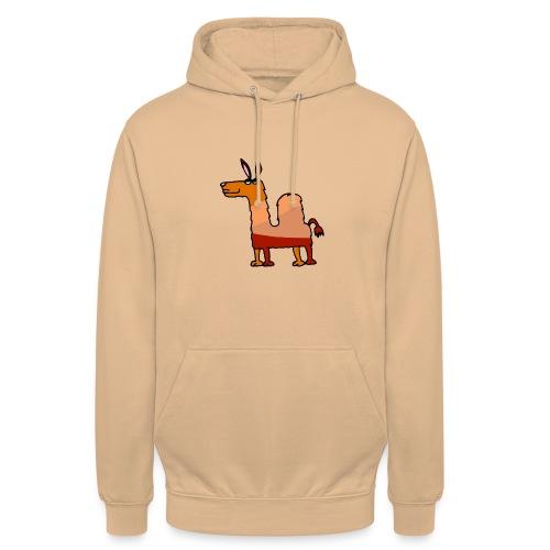 Tod le dromadaire - Sweat-shirt à capuche unisexe