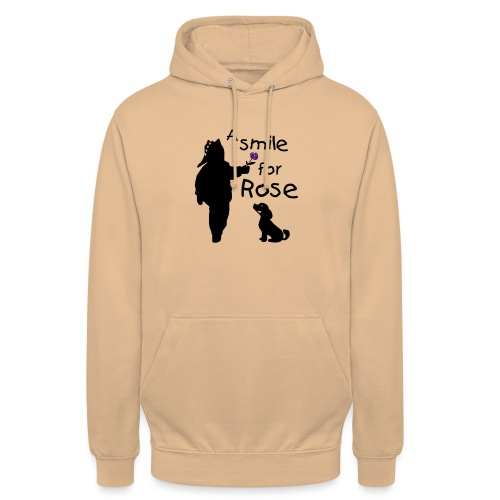 A Smile for Rose - Felpa con cappuccio unisex