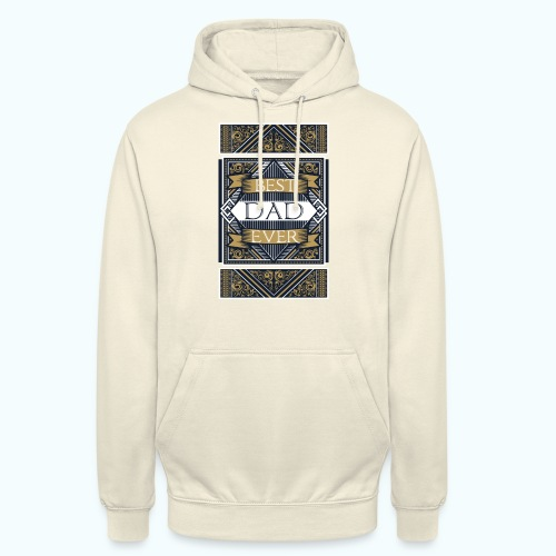 Best Dad Ever Retro Vintage Limited Edition - Unisex Hoodie