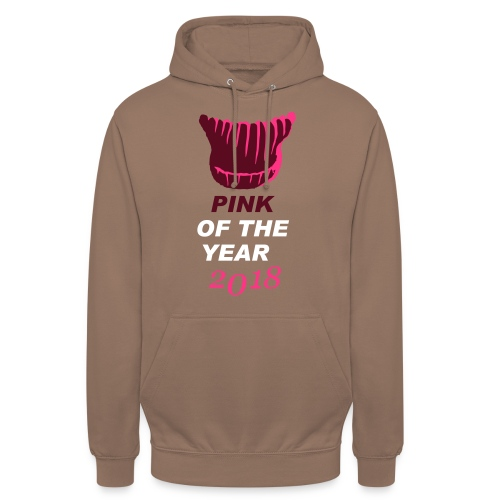 pink of the year 2018 pussyhat - Unisex Hoodie