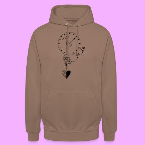 L'amour - Sweat-shirt à capuche unisexe