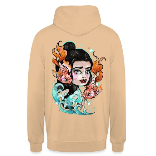 Lady fish - Sweat-shirt à capuche unisexe