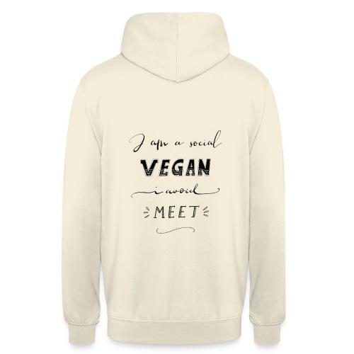Social Vegan - Unisex Hoodie